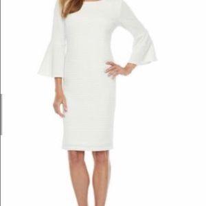 Liz Claiborne Ivory Dress size 8